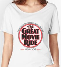 The Great Movie Ride 1989-2017 Women's Relaxed Fit T-Shirt