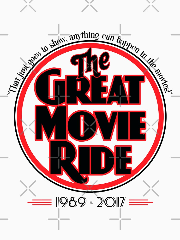 The Great Movie Ride 1989-2017 by KellyDesignCo
