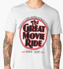 The Great Movie Ride 1989-2017 Men's Premium T-Shirt