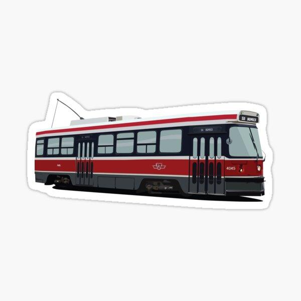Toronto Streetcar Sticker
