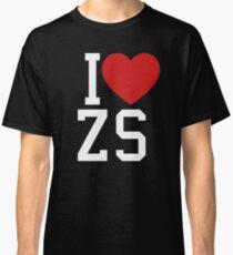 I heart ZS Classic T-Shirt