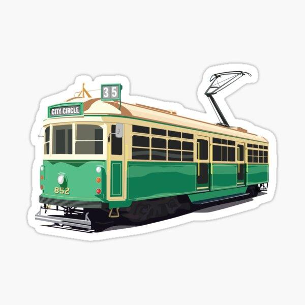 Melbourne Tram Sticker
