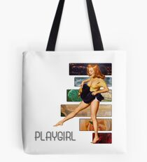 playgirl pin up p.9 (semi closet safe) Tote Bag