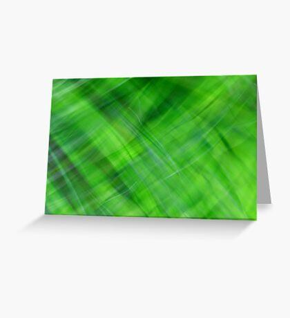 Green on Green Greeting Card