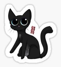 Bacon Cat Sticker