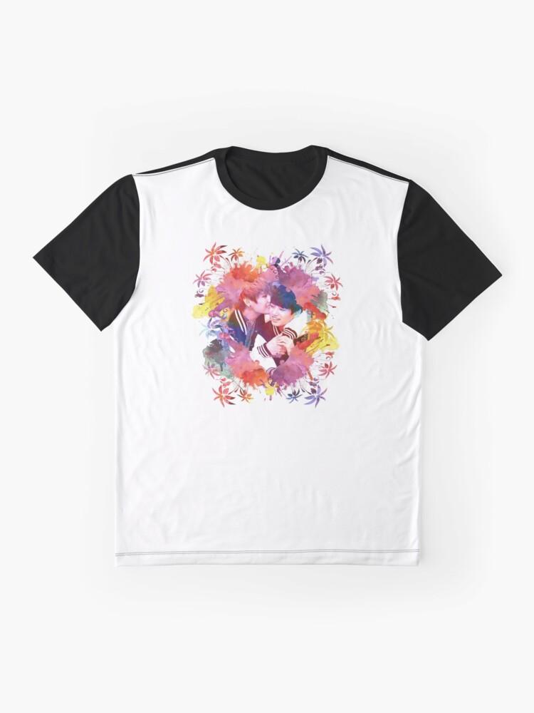 Alternative Ansicht von BTS- Vkook Grafik T-Shirt