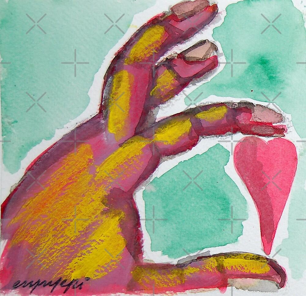 In my hand by monica palermo