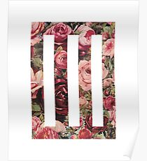 Paramore Floral Poster