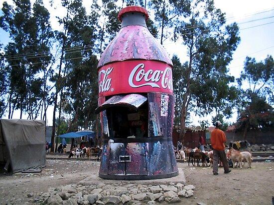 Coke Shop, Addis Ababa, Ethiopia by John Douglas