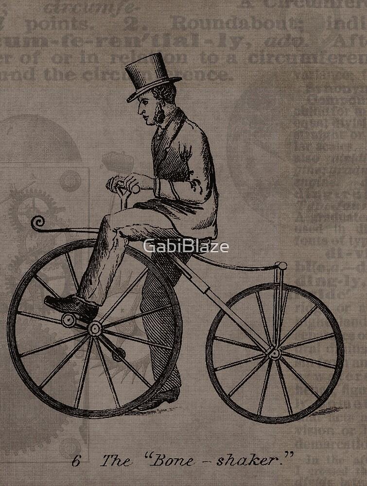 Vintage Bicycle Portrait by GabiBlaze