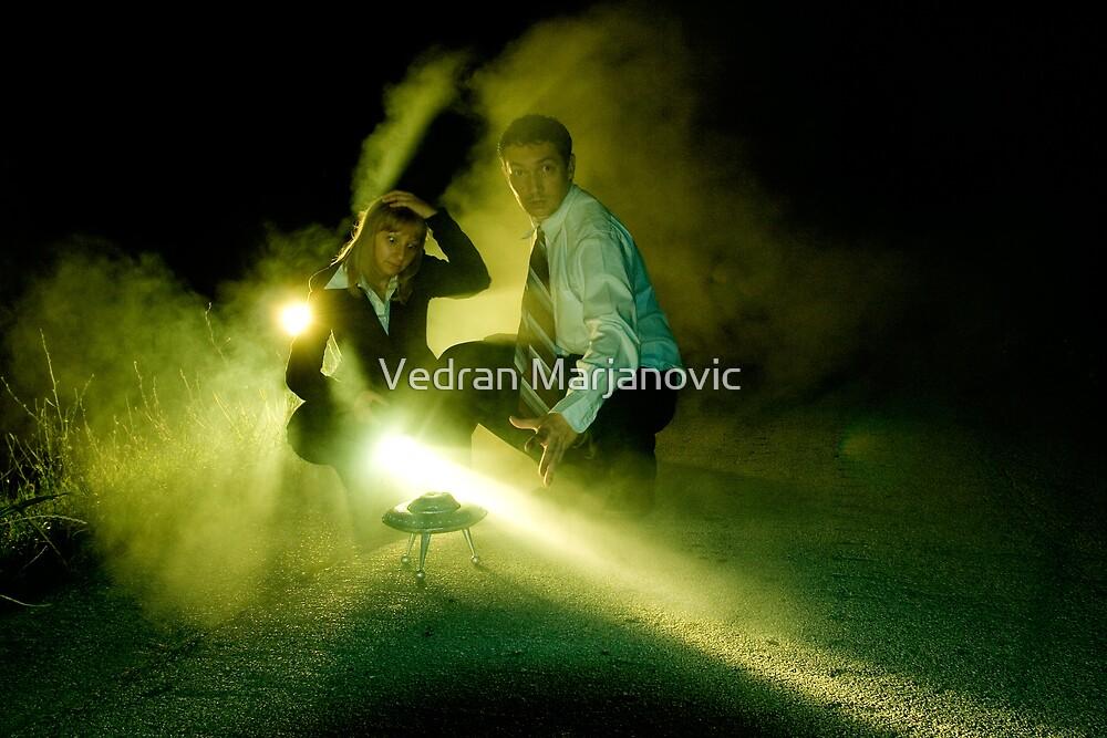 Mulder & Scully by Vedran Marjanovic