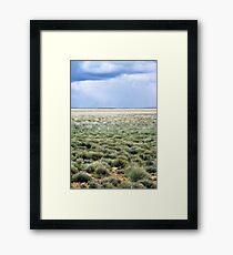 Plains Framed Print