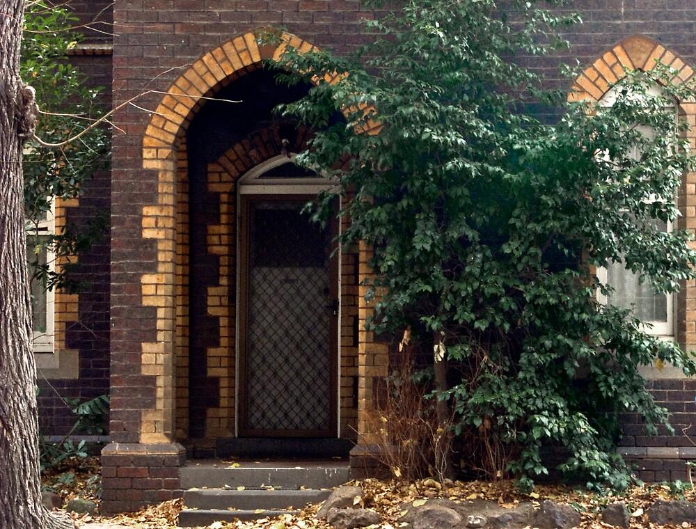 Priory Door by Sadandal