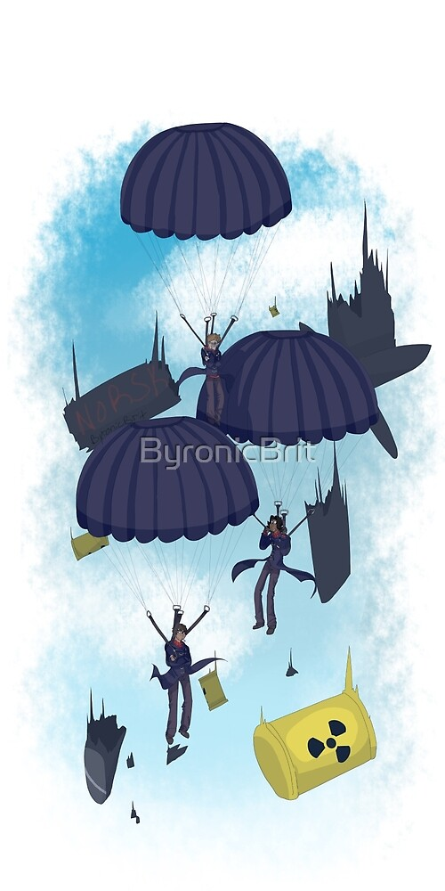 Parachutes by ByronicBrit