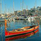 The Maltese Dghajsa by Xandru