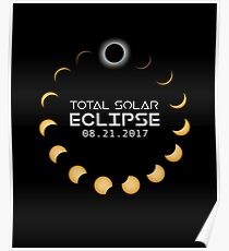 Total Solar Eclipse 360 - August 21, 2017 Poster