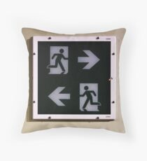 Indecision Throw Pillow