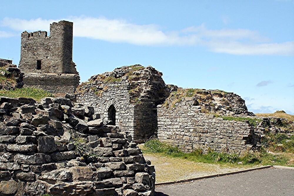 Aberystwyth Castle, Wales, United Kingdom by FranWest