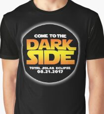 Total Solar Eclipse - Come To The Dark Side Graphic T-Shirt