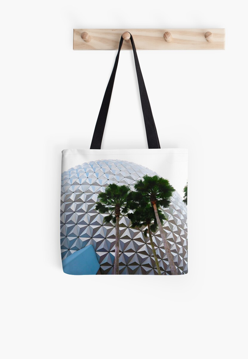 Theme Park Icon with Palm Trees by parkhopbears