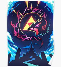 Skizorr - Ganon & Hyrule Castle Poster