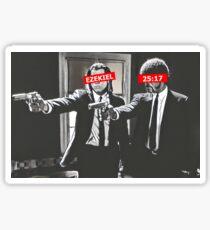 Jules and Vincent Pulp Fiction Bar Logos Sticker