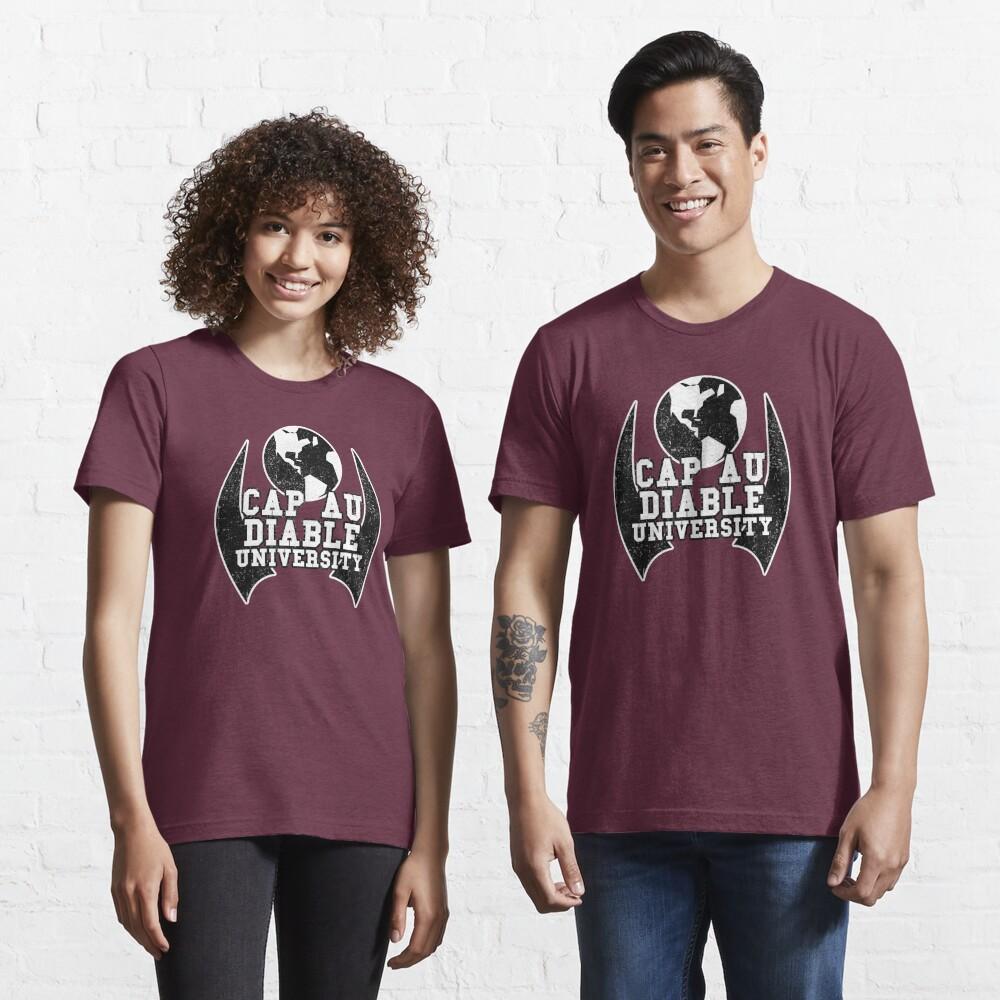 CITY OF HEROES UNIVERSITY SHIRTS - Cap Au Diable Essential T-Shirt