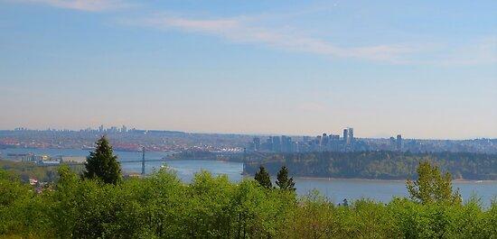 Vancouver Skyline by parkhopbears