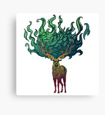 Baratheon Stag - Ours is the Fury Canvas Print