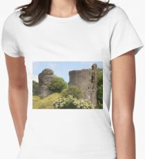 Llandovery Castle, Wales, United Kingdom Women's Fitted T-Shirt
