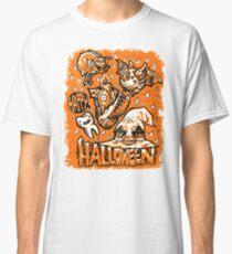 Happy Halloween Creatures Classic T-Shirt