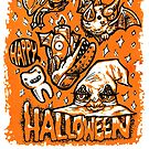 Happy Halloween Creatures by Madison Cowles Serna
