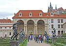 Wallenstein Palace, Prague by Graeme  Hyde
