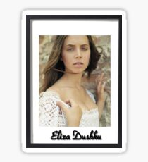 Eliza Dushku Sticker