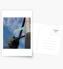 Broad Street Providence Postcards