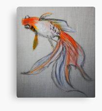 Goldfish Pond (close up #10) Canvas Print