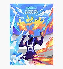 Skizorr - Todoroki Shouto  Photographic Print