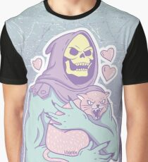 Skeletors Katze Grafik T-Shirt
