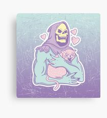 Skeletor's Cat Canvas Print