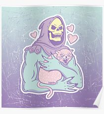 Skeletor's Cat Poster