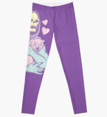 Skeletor's Cat Leggings
