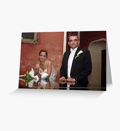 Me & My BRIDE 2 Greeting Card
