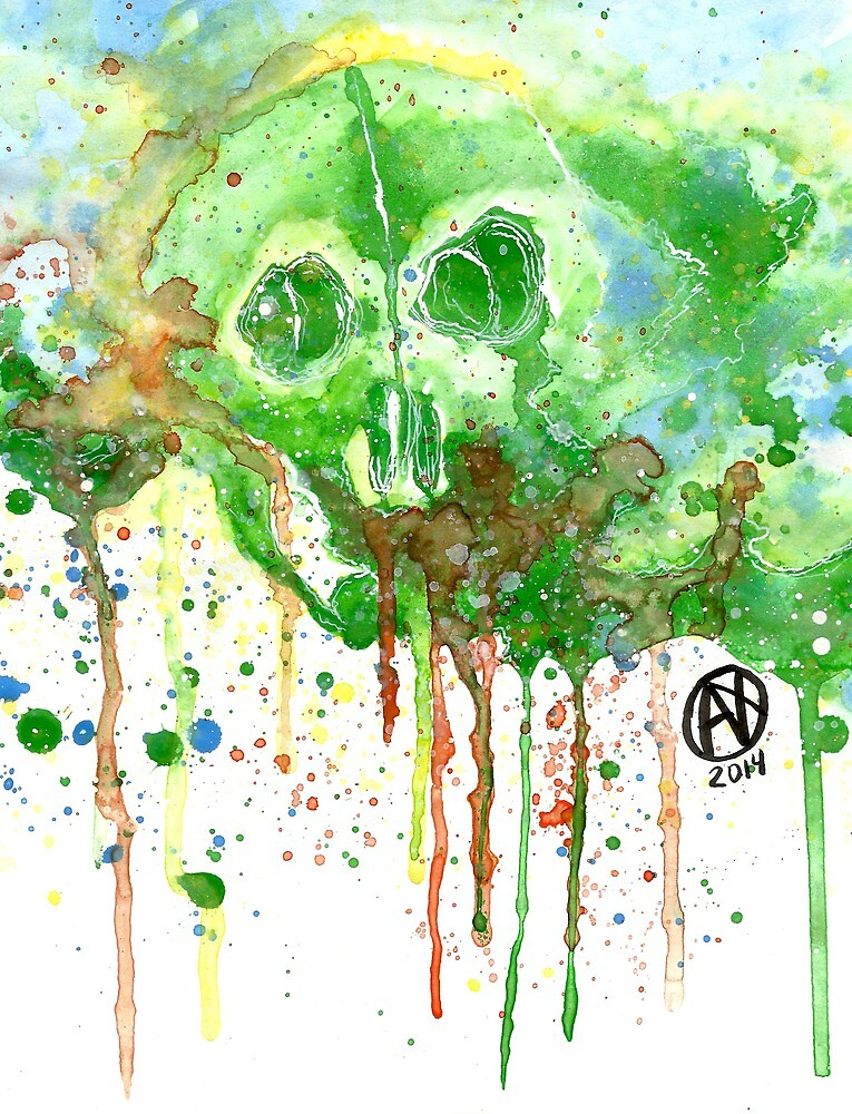 Color Skull by nato-art3