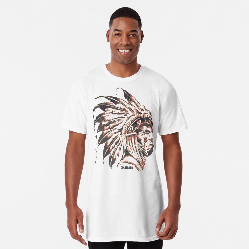 T-shirt long «ORIGINAIRE DE»