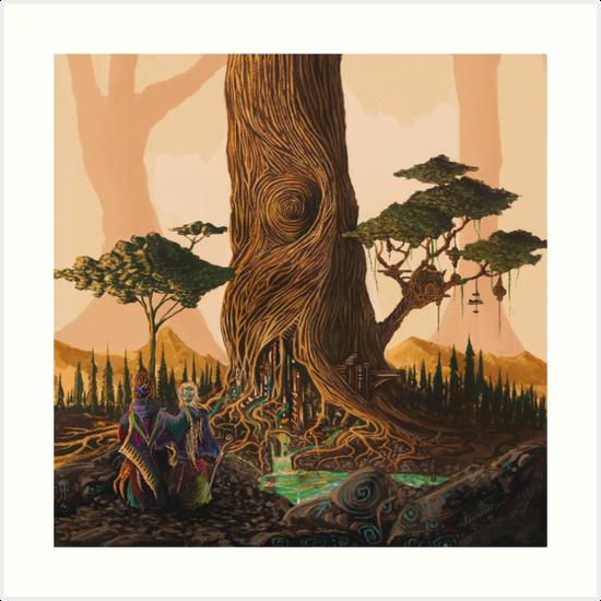 The Ancient Heart Tree by Daniel Watts