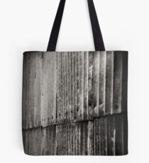 Aluminum Abstract Tote Bag