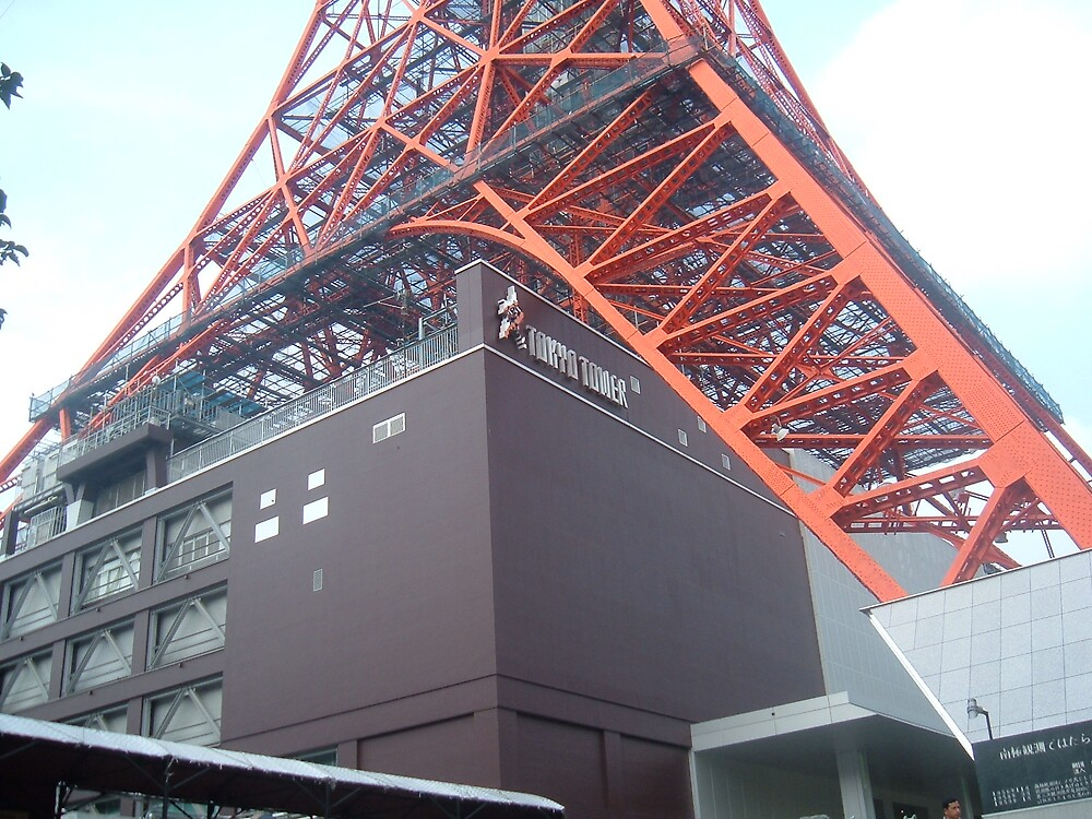 Tokyo Tower by siriusfan13