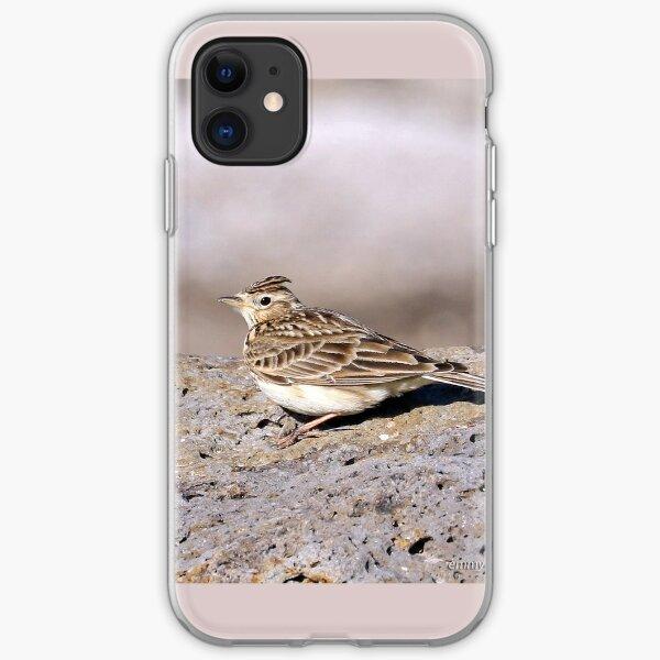 Eurasian Skylark (1174) iPhone Soft Case