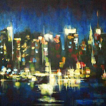 New York Skyline 2008 by SamDurkin