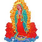 La Virgen de Guadalupe  by Madison Cowles Serna